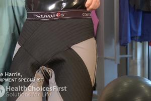 Core Shorts for Abdomen and Hip Alignment