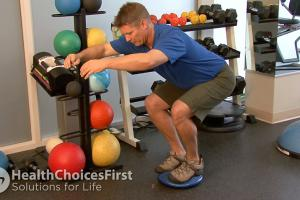 Gluteal Squat-Assisted Exercise