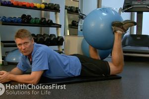 Isometric Hamstring Strength Exercise