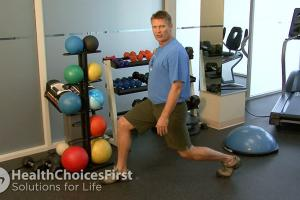 How do you do Standing Lunge Exercises
