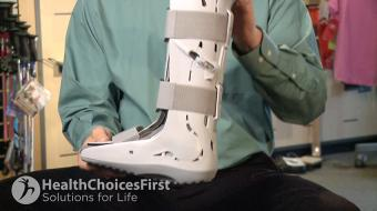 Dale Harris discusses bracing for ankle and lower leg fractures.