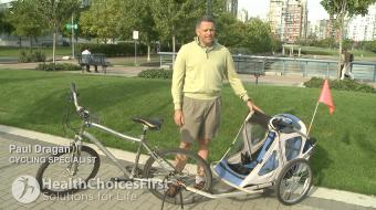 cycling safety dragan bike trailers