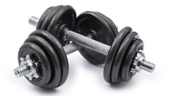 dumbbells pair