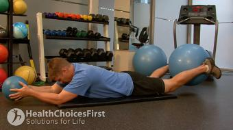 Jackson Sayers, B.Sc. (Kinesiology), discusses isometric lower back exercises using body weight.