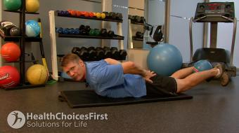 Jackson Sayers, B.Sc. (Kinesiology), discusses Lower Back Exercises