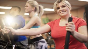 obese girl exercising treadmill xlarge