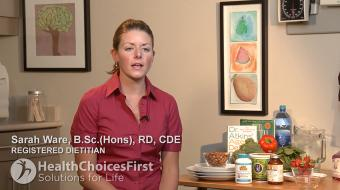 Sarah Ware, B.Sc.(Hons), RD, CDE, discusses Probiotics and Digestive Health