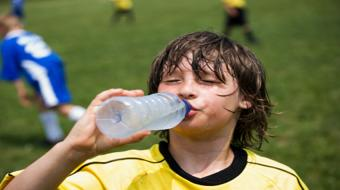 sports soccer kid water
