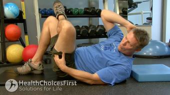 stomach cross exercise