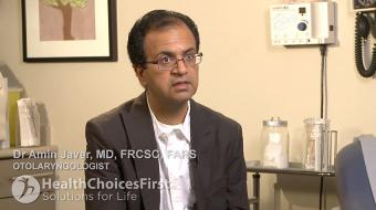 Dr. Amin Javer, MD, FRCSC, FARS, discusses balloon sinuplasty.